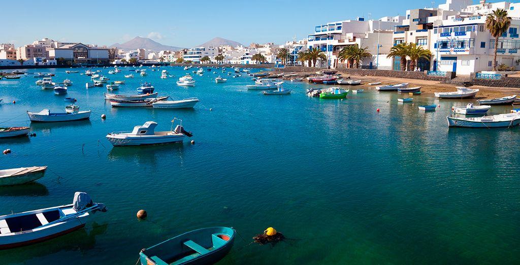in una delle località più belle e caratteristiche delle Canarie