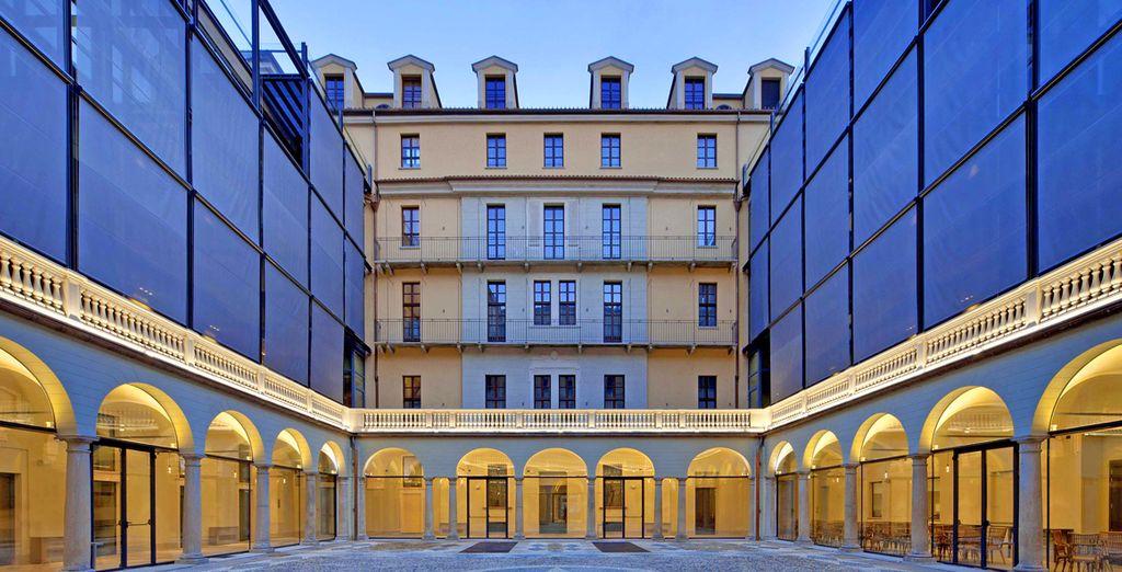 L'NH Collection Piazza Carlina è il luogo perfetto dove soggiornare