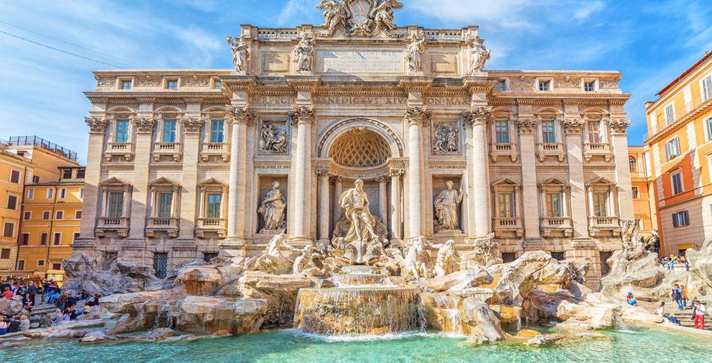 Partite da qui per scoprire Roma e le sue bellezze