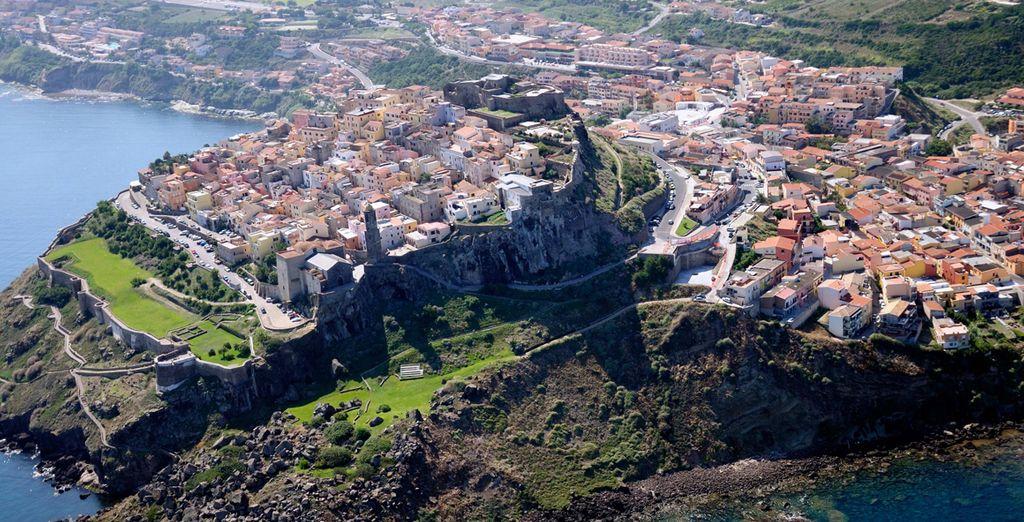 Visitate lo storico borgo di Castelsardo