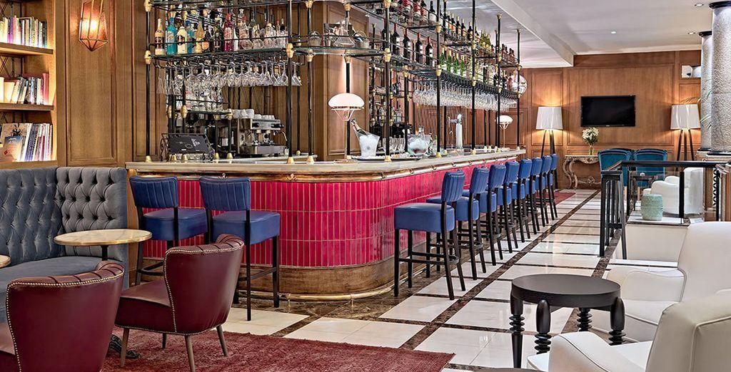 Il Bar La Villa è l'ideale per concedersi un drink