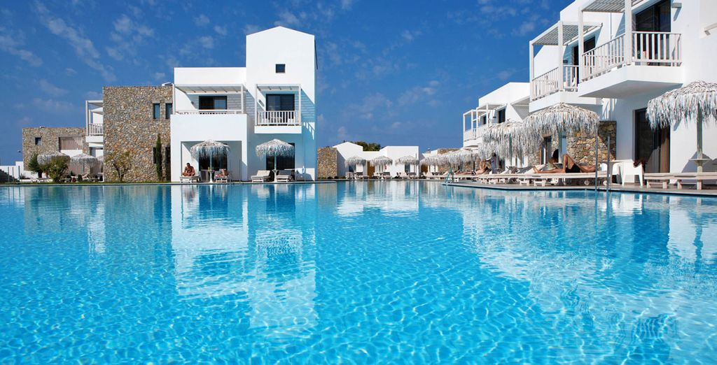 Scoprite le meravigliose piscine del resort