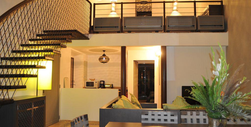 Abbiamo negoziato per voi confortevoli Ville con 1 o 2 camere da letto e una zona living