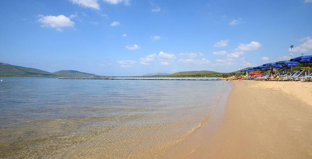 Sdraiatevi sotto il caldo sole della Sardegna