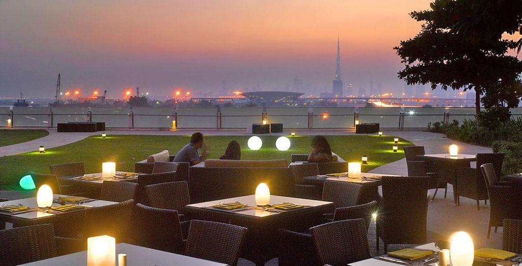 Lo Zaytoun restaurant vi accoglie con un'atmosfera unica