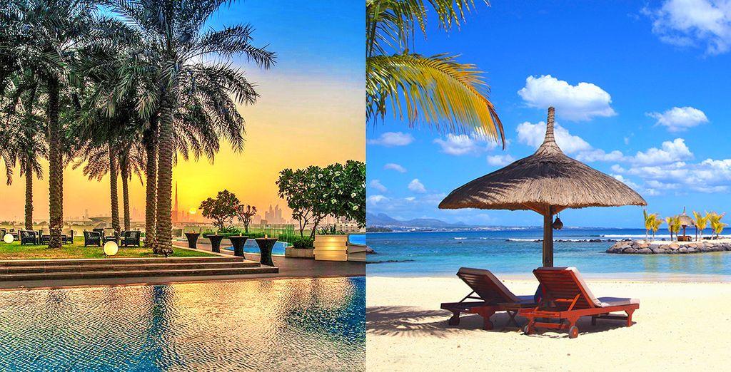 Un combinato unico vi attende per farvi scoprire Dubai e Mauritius