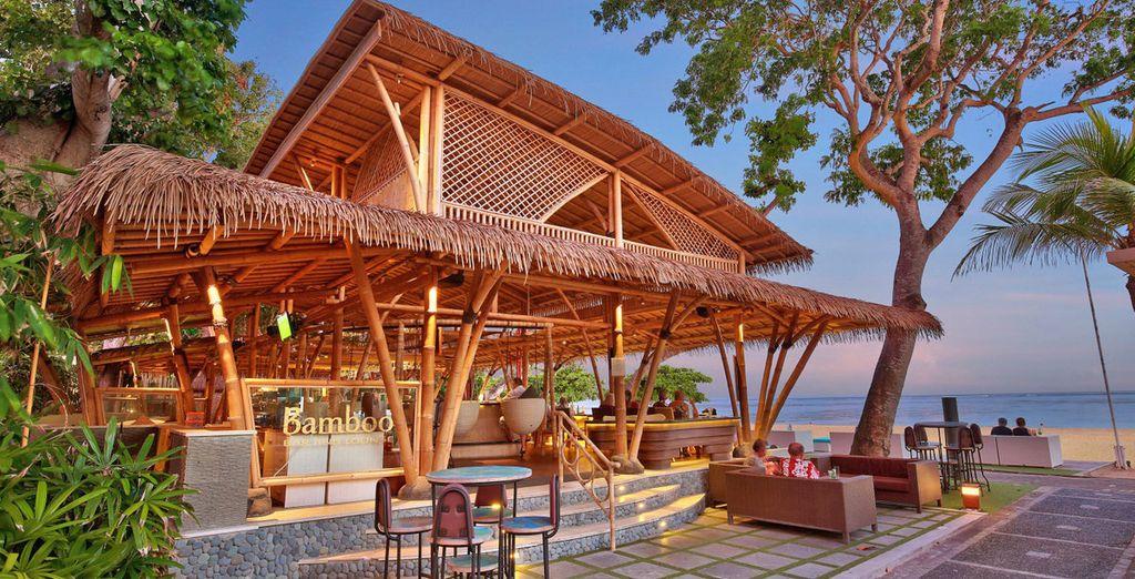 Assaporerete gli ottimi piatti della tradizione balinese in location da sogno
