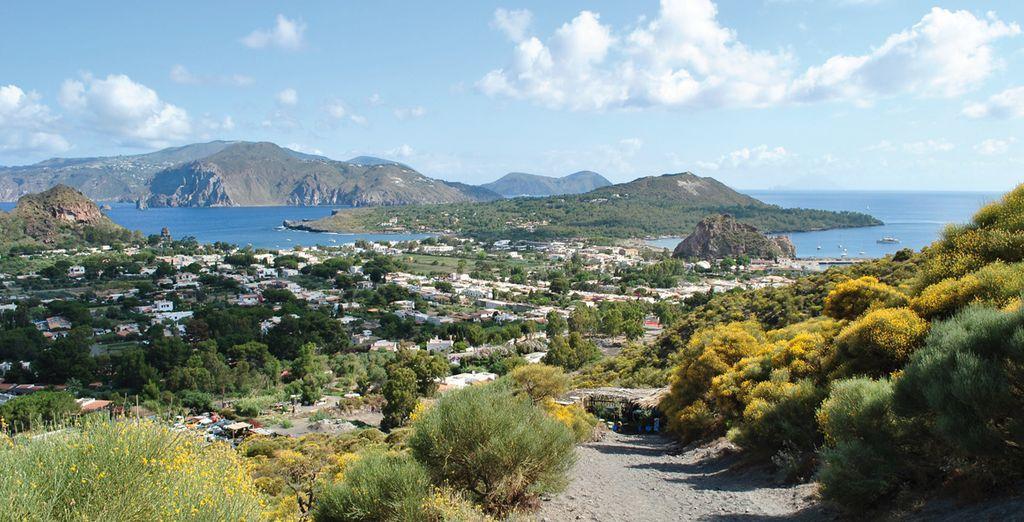 Benvenuti sull'affascinante isola di Lipari