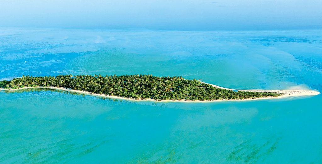 Per poi scoprire i dintorni di questo meraviglioso atollo e degli splendidi fondali marini.