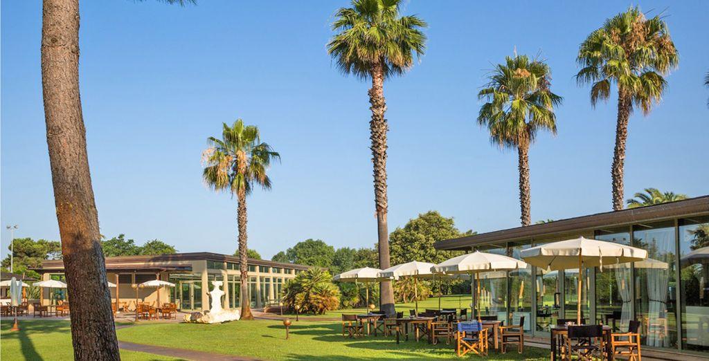Immersi nel verde dell'Hotel Villa Undulna 4*