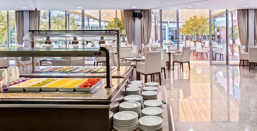 Nel ristorante principale potrete gustare un'ottima prima colazione