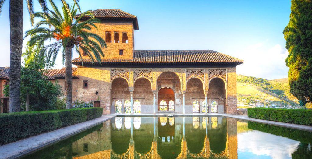 Visitate l'Alhambra