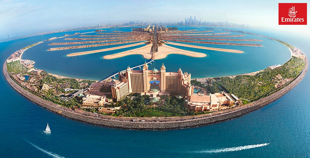 Benvenuti a Dubai in un'icona di lusso e sfarzo
