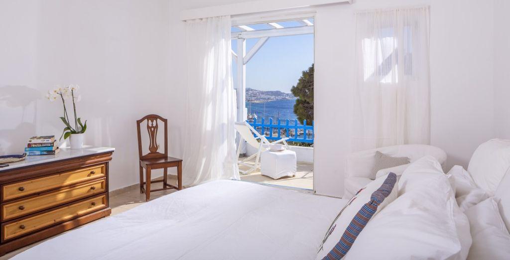 Per voi uno splendido soggiorno in confortevoli camere vista mare