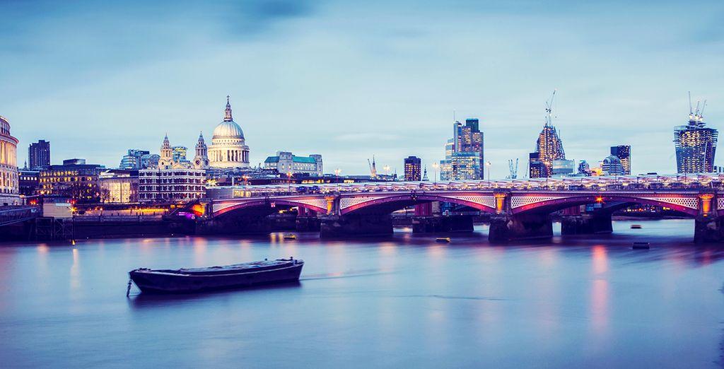 Approfittate della crociera sul Tamigi inclusa per 2 persone, da Westminster a Tower Bridge