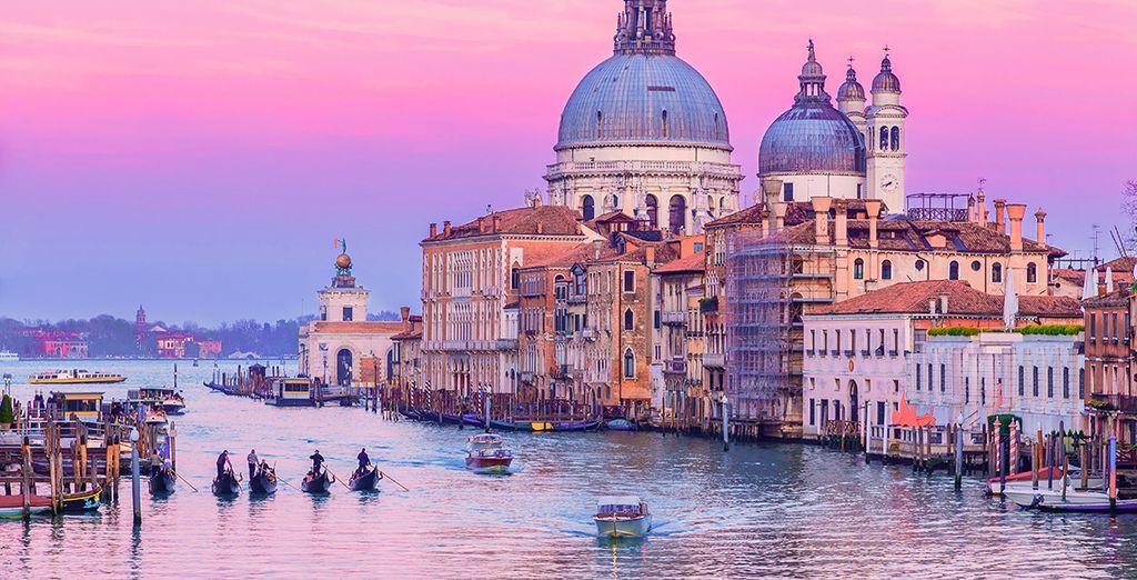 e respirate l'atmosfera unica di Venezia.