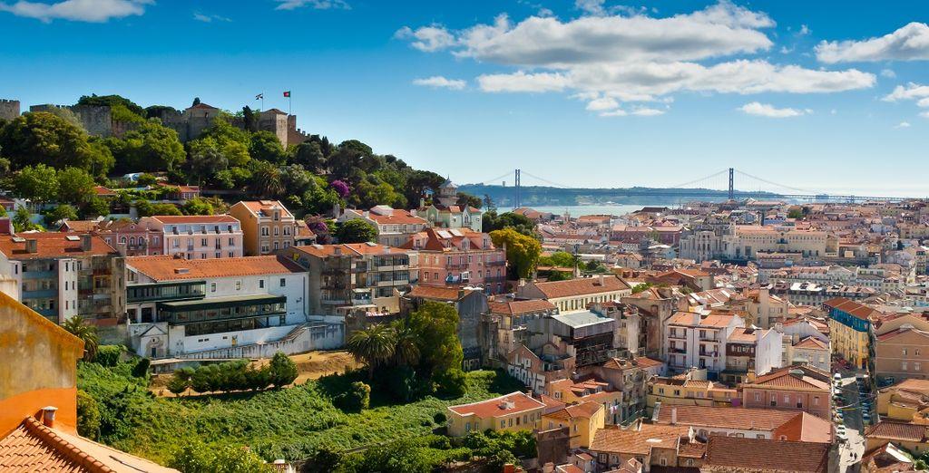 Poi arriverete a Porto, la seconda città del Portogallo