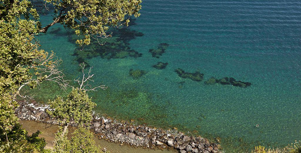 Ischia con i suoi angoli magici è perfetta per un vacanza rilassante