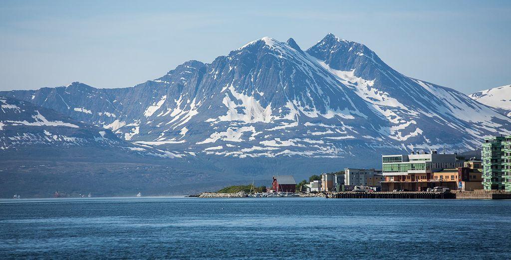 Scoprirete queste terre partendo da Tromsø, generalmente conosciuta come la sua capitale