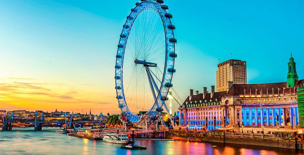 Londra vi attende per farvi vivere un soggiorno unico.