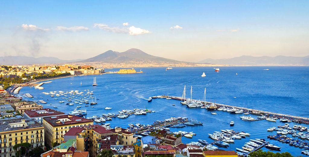 Approfittate della vicinanza a Napoli per ammirare tutte le bellezze del capoluogo campano