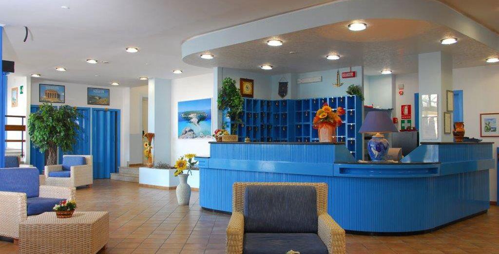 L''Hotel Baia Turchese è pronto ad accogliervi