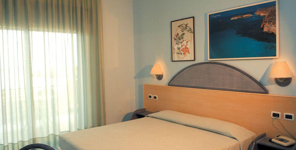 Rilassatevi nella vostra confortevole camera doppia Comfort