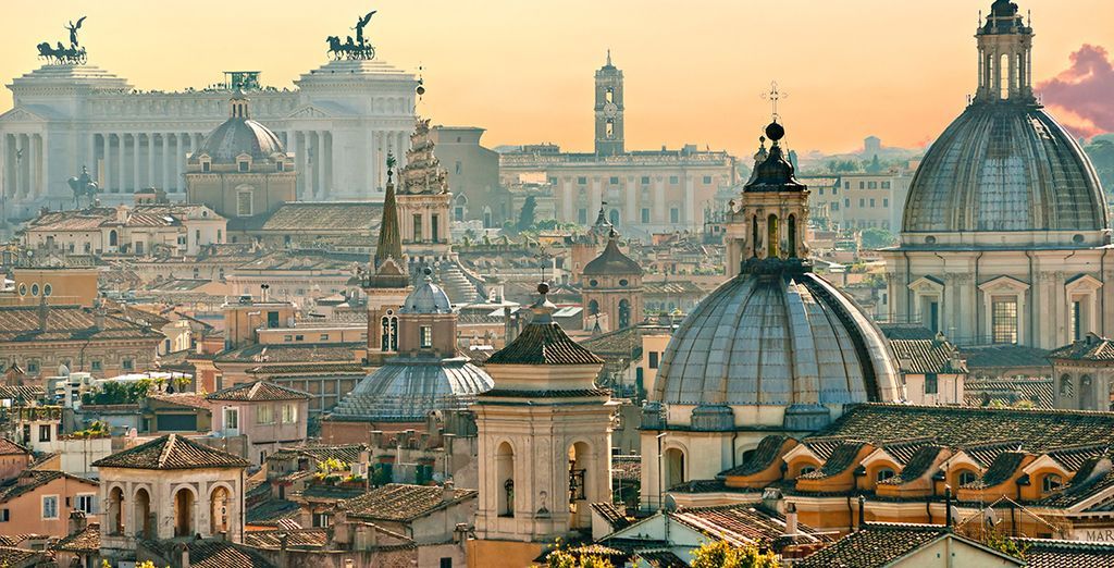 Roma vi farà innamorare!