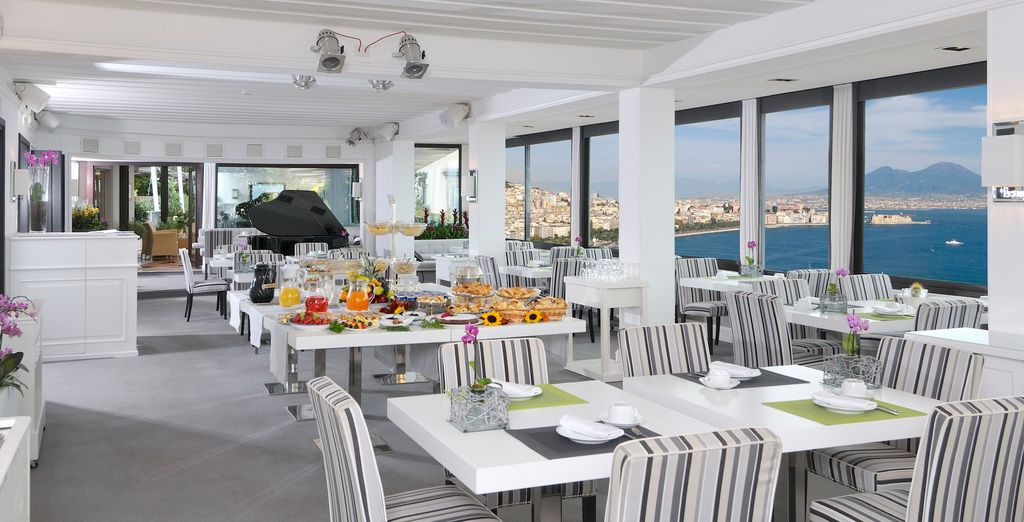 Il ristorante Paradisoblanco è un locale molto rinomato di Napoli