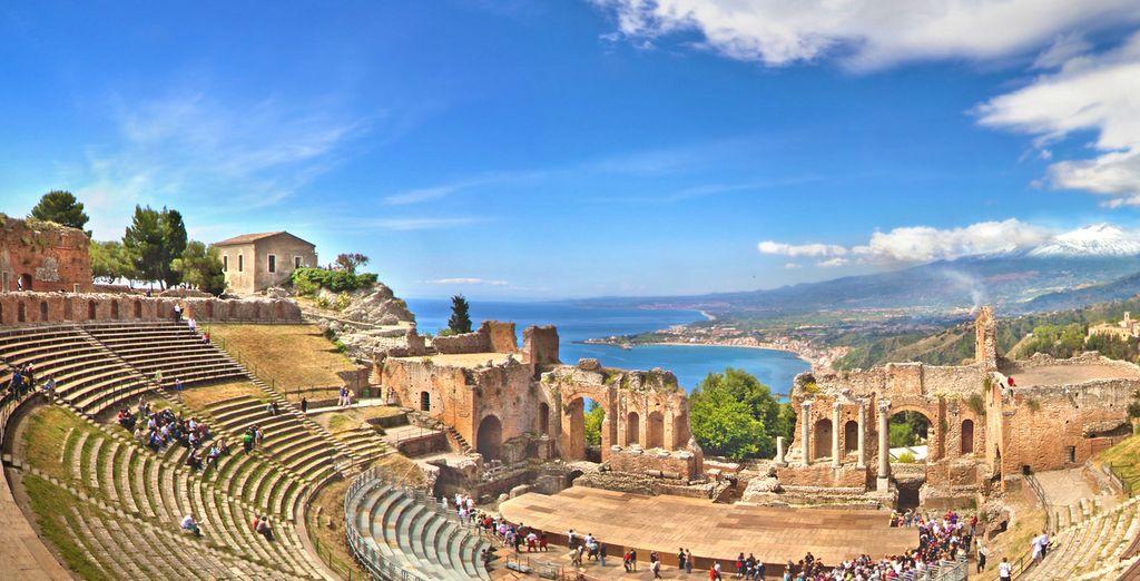 Prima di partire alla scoperta delle bellezze artistiche come Taormina