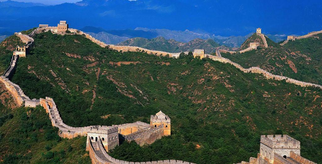 Pronti a partire per la magnifica muraglia cinese