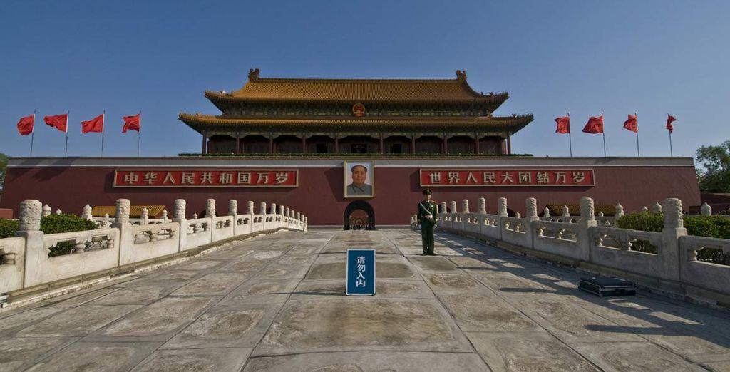 Il vostro tour partirà da Pechino