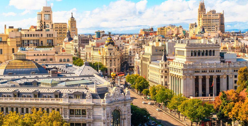 Partite alla scoperta di Madrid, città cosmopolita ricca di storia e tradizioni