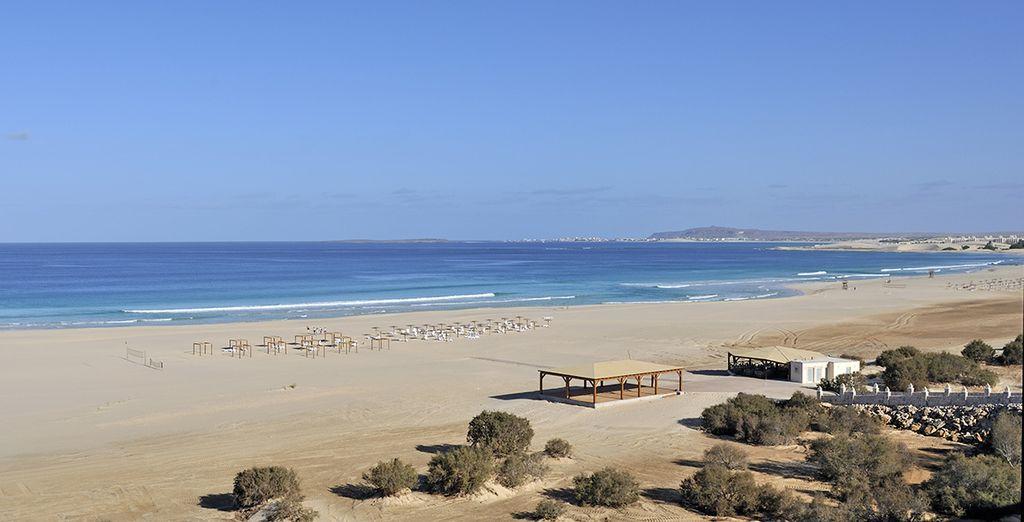 Rilassatevi sulle lunghe spiagge bianche dal mare cristallino.