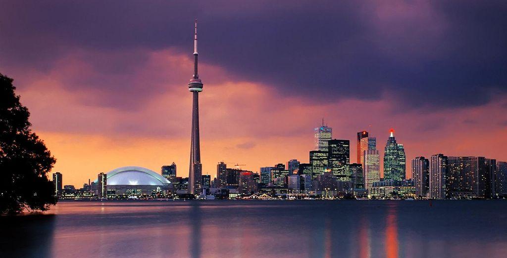 alla modernità di città come Toronto