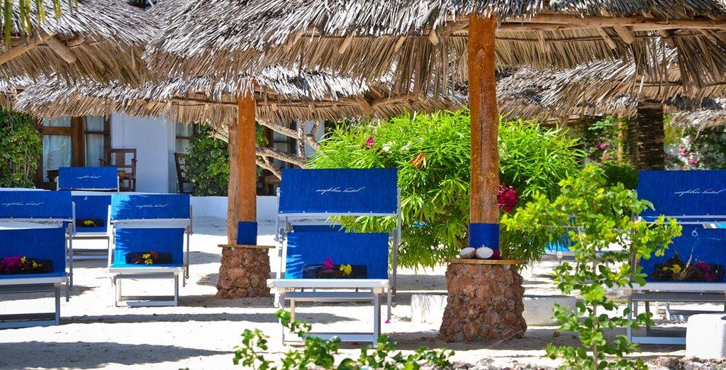 Godetevi la spiaggia di Nungwi, una delle piu' belle dell'isola