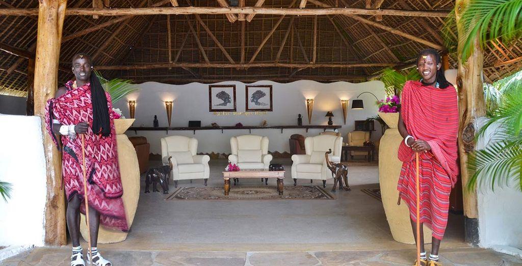 Uno splendido resort in questo piccolo angolo di paradiso