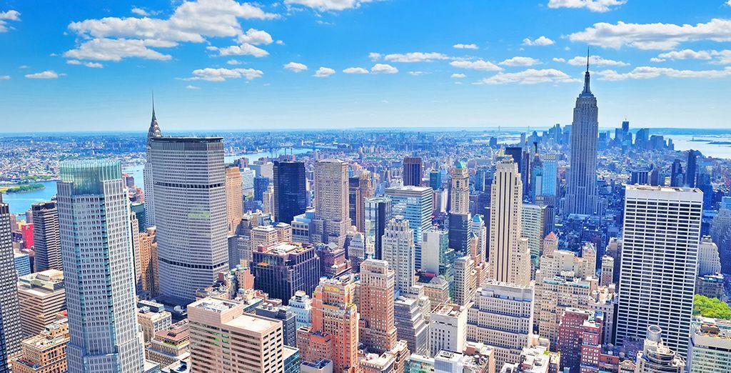 Un soggiorno a 4* vi attende a New York