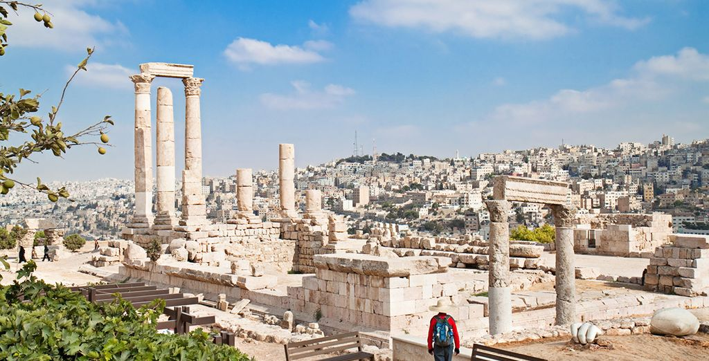 Prima tappa sarà la bellissima Amman