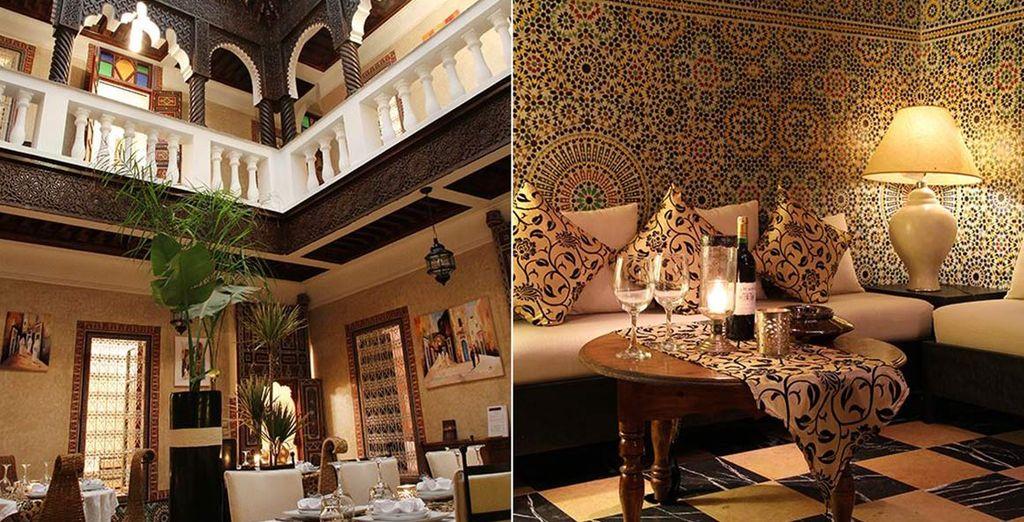 Un tipico Riad marocchino vi attende