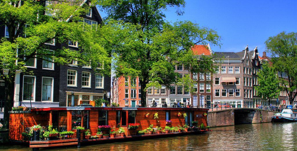Partite alla scoperta di Amsterdam