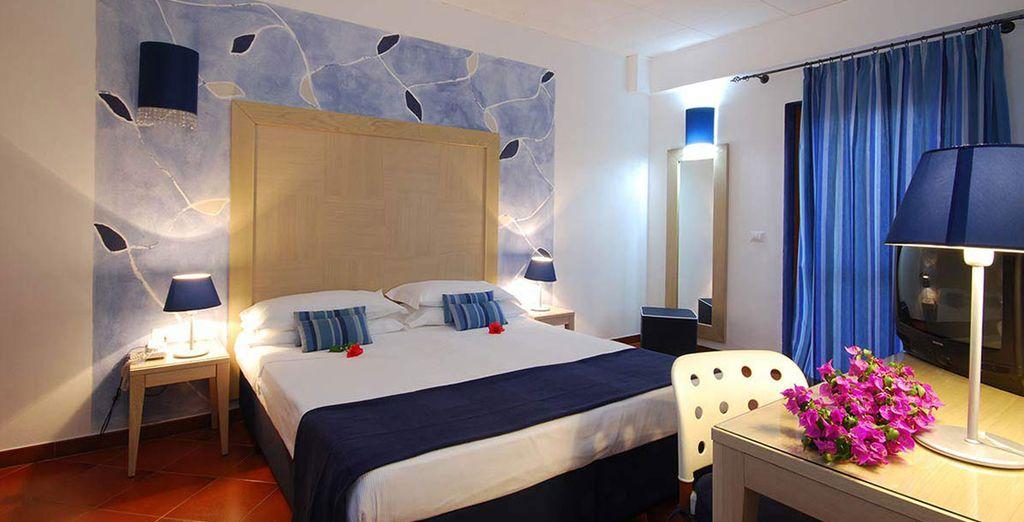 Cala Rosa Club Hotel e la sua camera doppia