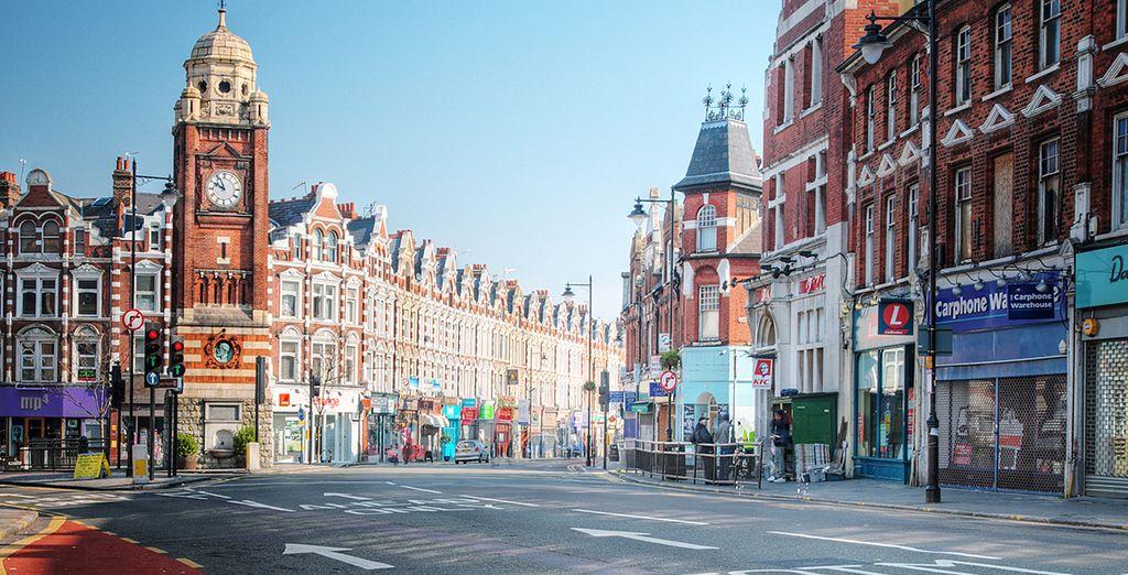 Fotografia della città di Londra nel Regno Unito