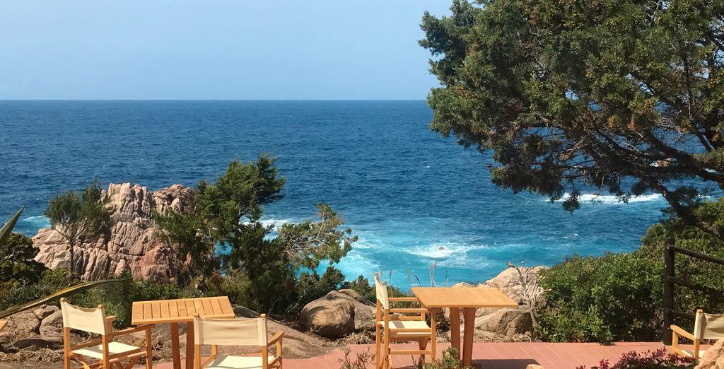 Godetevi una vista mozzafiato dall'hotel sul Mar Mediterraneo