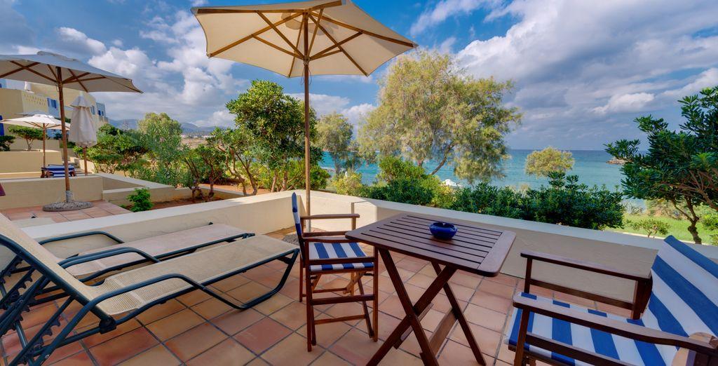 e terrazza o balcone per godersi gli esterni