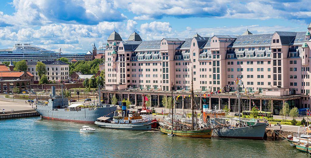 Prossima tappa sarà Oslo, la vivace capitale norvegese