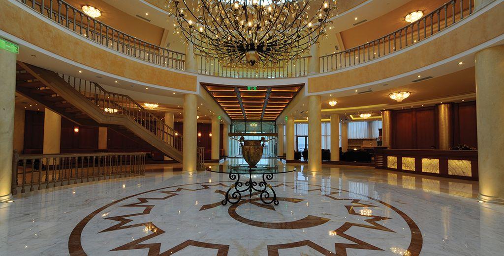 Per rendere il vostro soggiorno rilassante in un ambiente elegante e raffinato