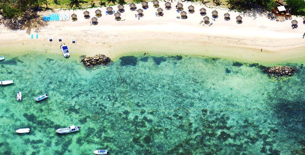 Regalatevi un viaggio sulla laguna di Trou aux Biches
