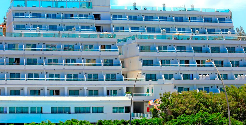 L'Hotel Labranda Cactus Garden 4* è pronto a darvi il benvenuto