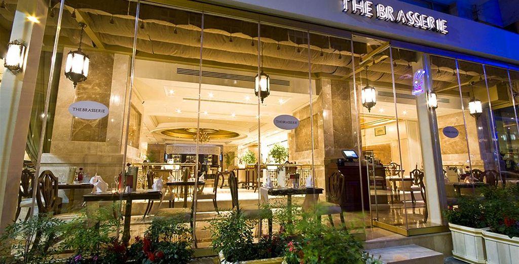 La brasserie per un pasto veloce e leggero durante le vostre pause tra una visita e l'altra